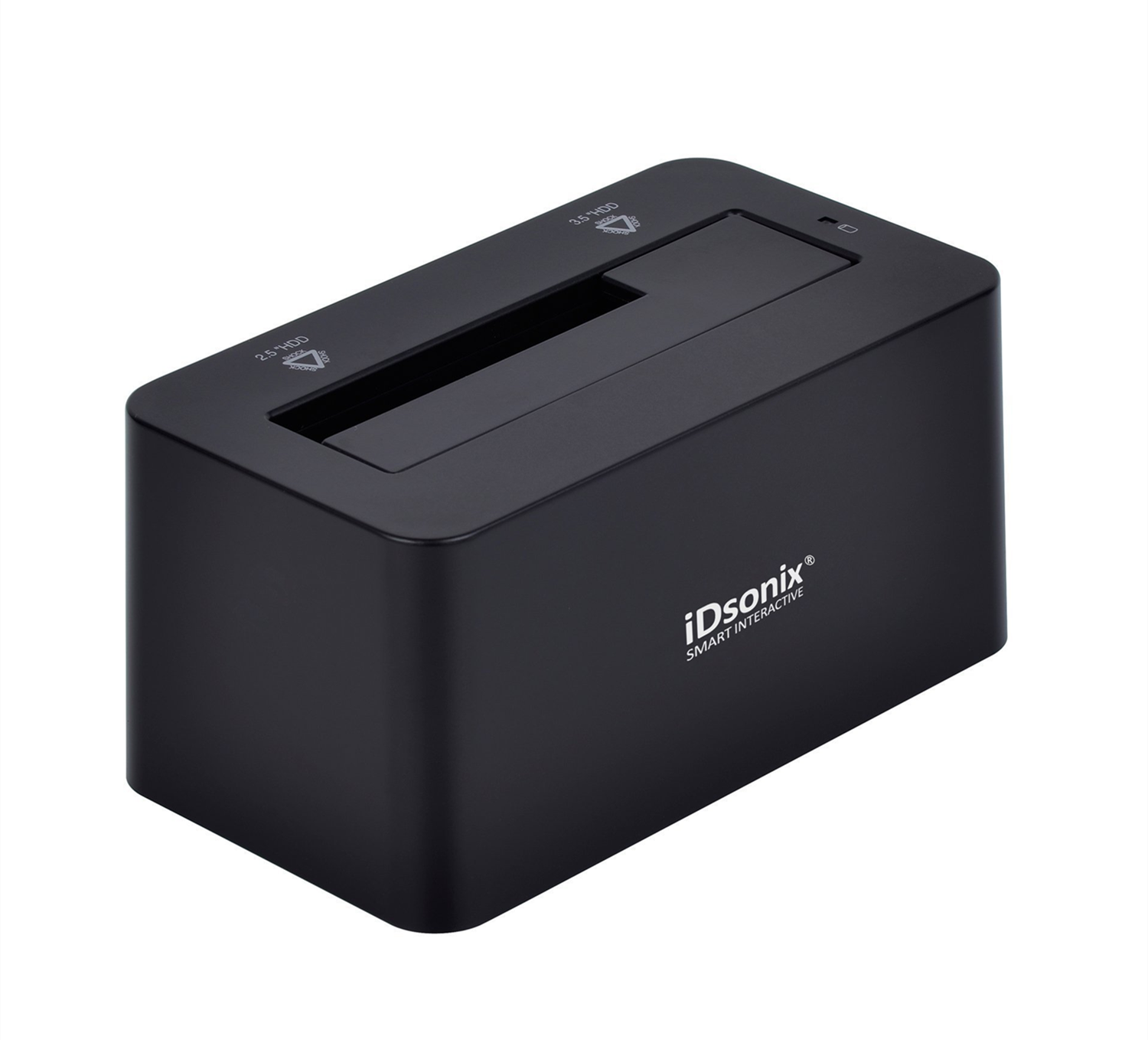 iDsonix Tool Free USB 3.0/2.0 to SATA 2.5/3.5 Inch Hard Drive Docking Station with 3.3 Feet USB 3.0 Cable for HDD/SSD Support 8TB and UASP